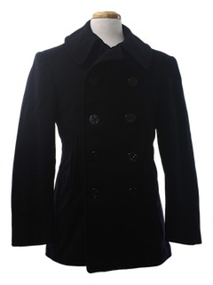 1940's Mens Pea Coat