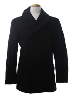 1960's Mens Pea Coat