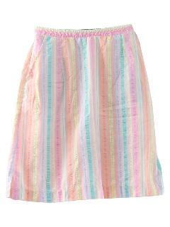 1970's Womens Skorts Skirt