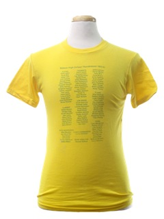 1980's Unisex School/Music T-Shirt