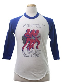 1980's Unisex Sports/Athletic T-Shirt