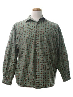 1980's Unisex Totally 80s Sport Shirt