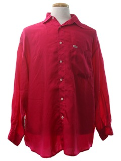 1980's Mens Totally 80s Designer Shirt