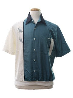 1990's Mens Golf Resort Wear Shirt