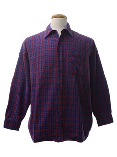 1990's Mens Wicked 90s Grunge Flannel Shirt