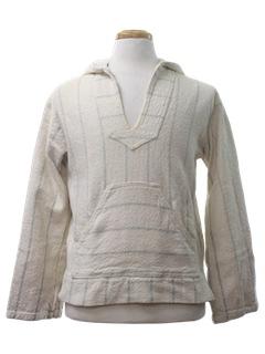 1980's Unisex Hippie Baja Jacket