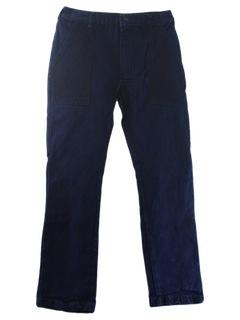 1980's Mens Jeans Cargo Pants