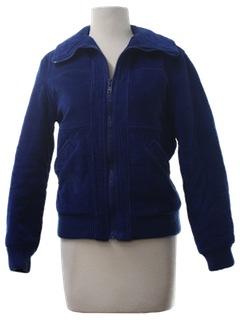 1980's Womens Corduroy Ski Jacket