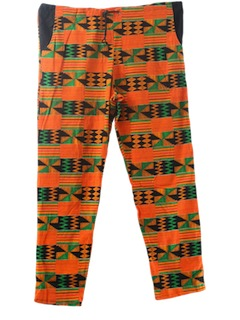 1990's Mens Wicked 90s Guatemalan Style Hippie Pants