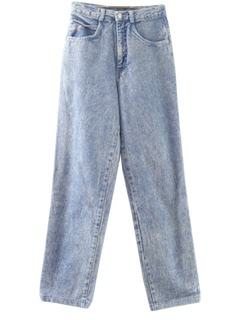 1990's Womens Wicked 90s Acid Wash Jeans Pants