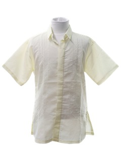 1980's Mens/Boys Sheer Hippie Shirt
