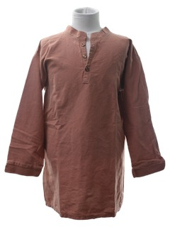 1980's Unisex Hippie Tunic Shirt