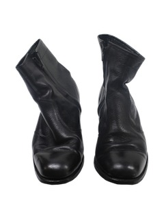 1970's Mens Accessories - Ankle Boots Shoes