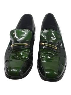 1970's Mens Accessories - Disco Pimp Loafer Shoes