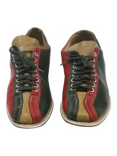 1960's Mens Accessories - Mod Bowling Shoes