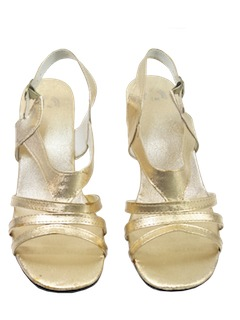 1970's Womens Accessories - Cocktail Sandals Shoes