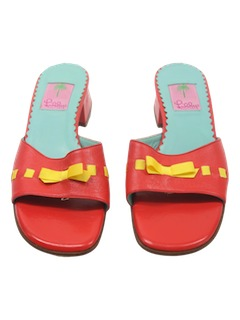 1980's Womens Accessories - Sandals Shoes