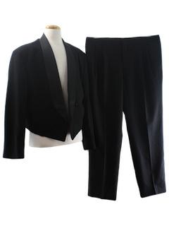 1980's Mens Tails Tuxedo Suit