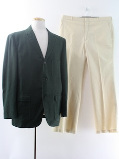 1960's Mens Mod Combo Suit