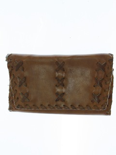 1960's Unisex Accessories - Leather Wallet