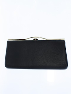 1960's Womens Accessories - Classic Clutch Purse