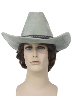 1980's Mens Accessories - Western Cowboy Hat