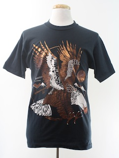 1980's Unisex Travel or Animal T-Shirt