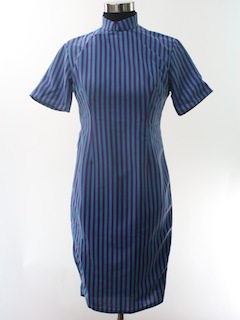 1960's Womens Cheongsam Dress