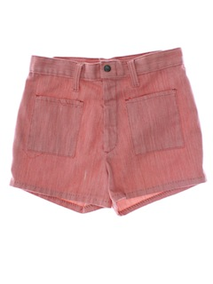 1960's Womens Mod Short Shorts
