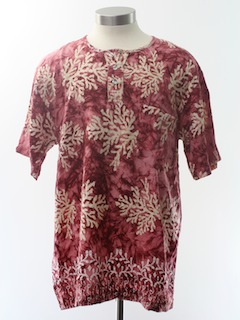 1990's Mens/Boys Hippie Shirt Shirt
