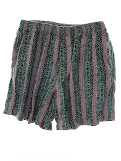 1980's Mens Totally 80s Baggy Shorts