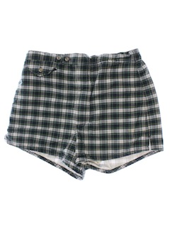 1990's Mens Mod Inspired Swim Shorts