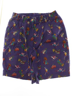 1990's Womens Wicked 90s Golf Shorts