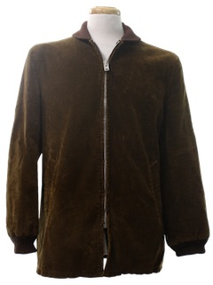 1960's Mens Corduroy Car Coat