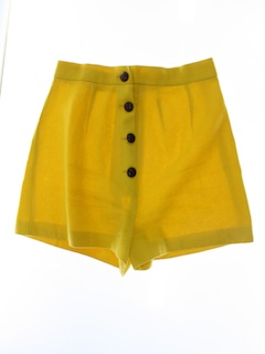 1960's Womens Wool Mod Shorts