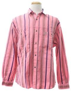 1990's Mens Print Shirt