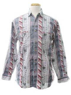 1990's Mens Wicked 90s Print Shirt