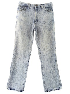 1990's Mens Wicked 90s Acid Washed Jeans Pants
