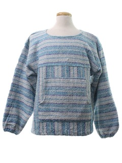 1980's Unisex Baja Style Hippie Jacket