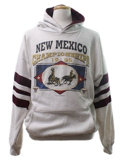 1990's Mens Wicked 90s Western Sweatshirt
