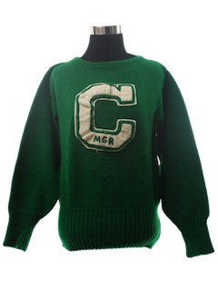 1950's Womens Lettermans Sweater