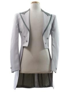 1970's Mens Tails Tuxedo Jacket