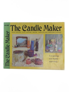 1970's Candlemaking Craft Book