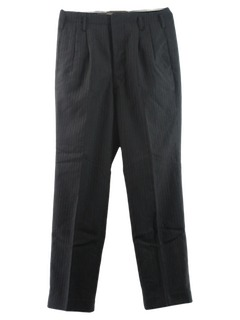 1940's Mens Wool Gabardine Slacks Pants