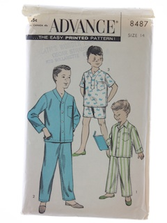1950's Mens Boys Pattern
