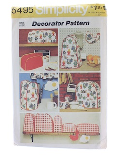 1970's Home Decor Craft Pattern