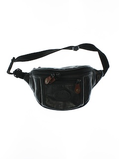 1990's Womens Accessories - Wicked 90s Leather Fanny Pack