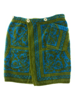 1960's Mens Bath Wrap Shorts