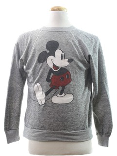 1980's Unisex Disney Sweatshirt