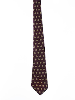 1950's Mens Wide Disco Necktie
